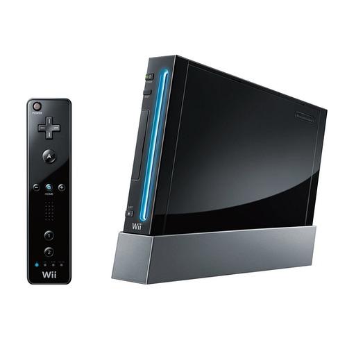 Wii черного цвета