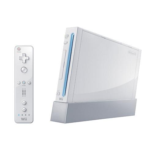 Wii белого цвета