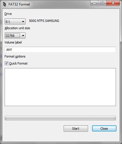 форматирование флешек для Xbox 360