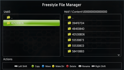 файловый менджер FSD