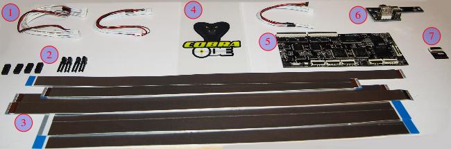 Комплект поставки Cobra ODE